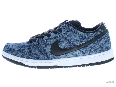 【US9】NIKE SB DUNK LOW PREMIUM SB 313170-402 midnight navy/black-white