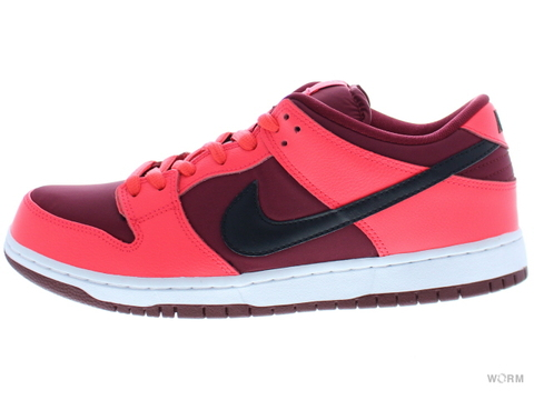 【US11】NIKE SB DUNK LOW PRO SB 304292-606 laser crimson/black-team red
