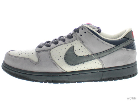 "【US8】NIKE SB DUNK LOW PRO SB ""BAND AID"" 304292-006 light bone/flint grey"