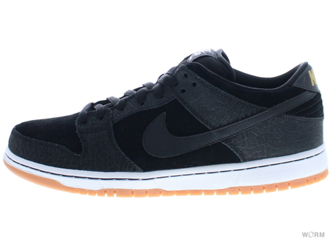 "NIKE SB DUNK LOW PREMIUM SB QS ""NONTOURAGE"" 504750-040 black/black-white-gm med brown"