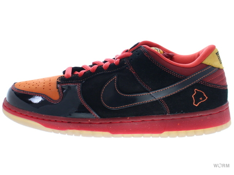 "NIKE SB DUNK LOW PREMIUM SB ""HAWAII"" 313170-003 black/black-deep orange"