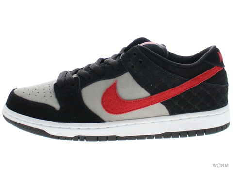 "NIKE SB DUNK LOW PREMIUM SB QS ""PRIMITIVE"" 504750-060 black/varsity red-medium grey"
