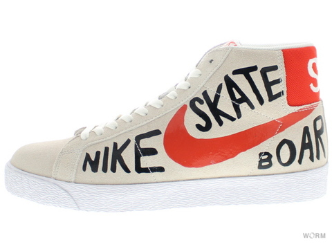 NIKE SB BLAZER SB PREMIUM 819861-188 summit white/team orange