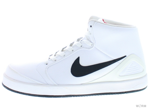 【US9.5】NIKE SB ZOOM PAUL RODRIGUEZ 4 HI 407438-101 white/black-sport red