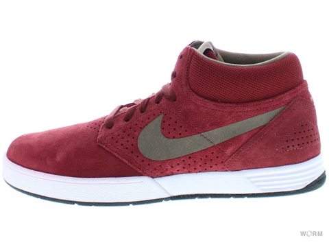 【US8】NIKE PAUL RODRIGUEZ 5 MID 472300-621 barn/cocoa-white-black