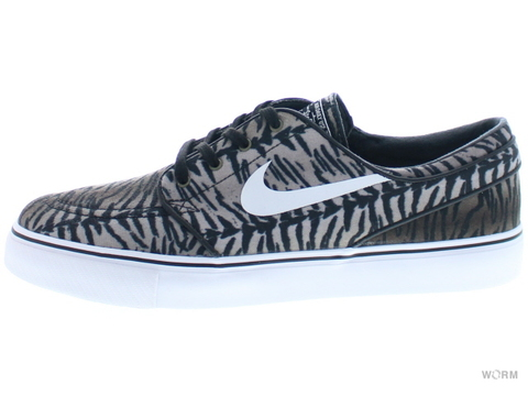 【US8】NIKE SB ZOOM STEFAN JANOSKI CNVS 615957-013 black/white-medium olive