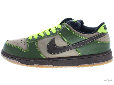 "【US8】NIKE SB DUNK LOW PRO SB ""JEDI"" 304292-222 khaki/baroque brown-safari"