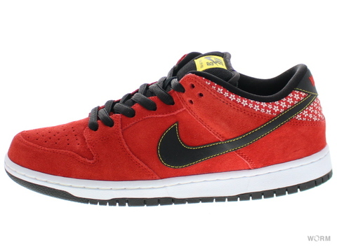 "NIKE SB DUNK LOW PREMIUM SB ""FIRECRACKER"" 313170-602 challenge red/black-white"