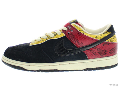 NIKE DUNK LOW PREMIUM SB 313170-701 bright golden rod/black
