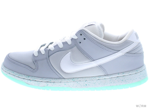 "NIKE SB DUNK LOW PREMIUM SB ""MARTY MCFLY"" 313170-022 wolf grey/white-lt retro"