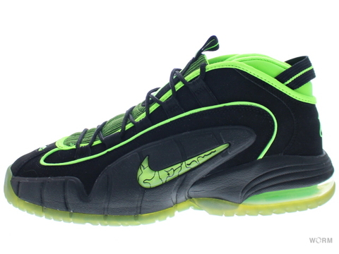 【US10.5】NIKE AIR MAX PENNY 05 HOH 438793-033 black/electric green