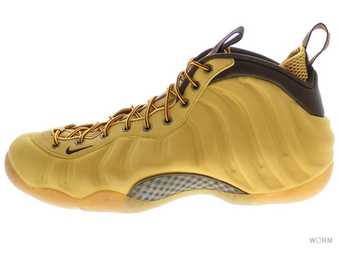 "NIKE AIR FOAMPOSITE ONE PRM ""WHEAT"" 575420-700 haystack/track brown"