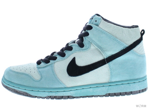 "【US9.5】NIKE SB DUNK HIGH PRO SB ""SEA CRYSTAL"" 305050-301 ice green/black-sea crystal"
