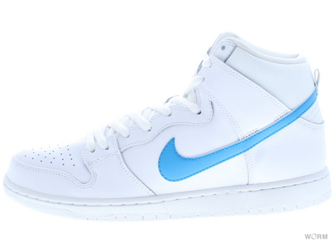 NIKE SB DUNK HIGH TRD QS 881758-141 white/orion blue-white-white