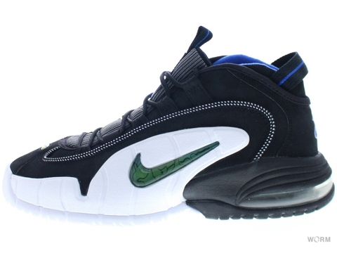 【US8】NIKE AIR MAX PENNY 311089-001 black/varsity royal-white