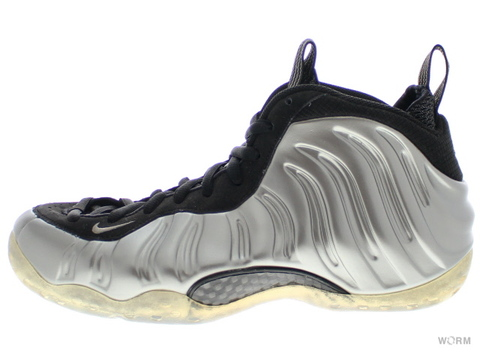 【US8】NIKE AIR FOAMPOSITE ONE 314996-004  mtlc pewter/black