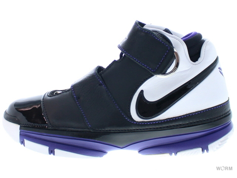 【US8.5】NIKE ZOOM KOBE II ST 316835-001 black/black-white-grape ice