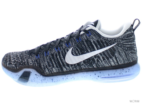 "【US8】NIKE KOBE X ELITE LOW PRM ""HTM"" 805937-010 black/white"
