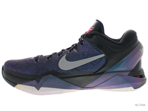 "【US10.5】NIKE ZOOM KOBE VII ""INVISIBILITY CLOAK"" 488371-005 black/court purple-trqs blue"