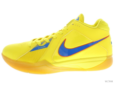 "【US9.5】NIKE ZOOM KD III ""CHRISTMAS 2010"" 417279-700 vibrant yellow/pht bl-tm orng"