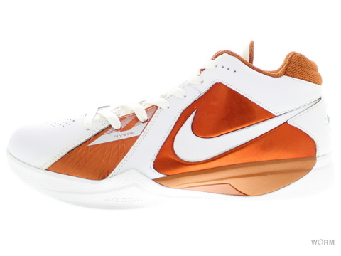 【US9.5】NIKE ZOOM KD III 417279-106 white/desert orange(texas)
