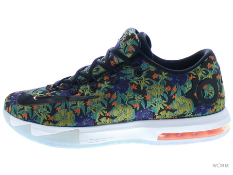 "【US11】NIKE KD VI EXT QS ""FLORAL"" 652120-900 multi-color/black"
