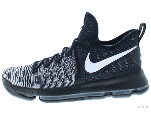 【US9】NIKE ZOOM KD 9 EP 844382-010 black/white
