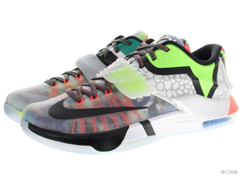 "【US10.5】NIKE KD VII SE ""WHAT THE KD"" 801778-944 multi-color/black-horizon"
