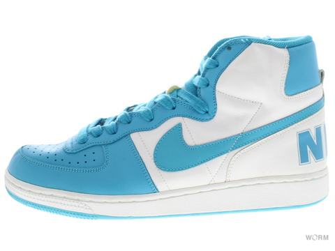 【US11.5】NIKE TERMINATOR HI 309982-141 white/blue reef