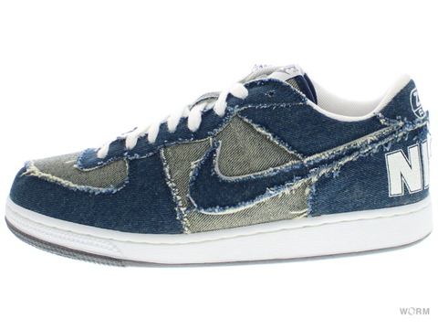 "NIKE ZOOM TERMINATOR LOW ""MEDICOM"" 313206-441 denim/denim-white"