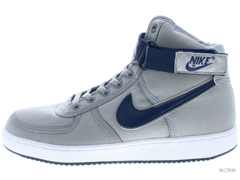 【US9】NIKE VANDAL HI CANVAS 306323-041 medium grey/obsidian-white