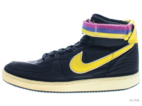 【US11】NIKE VANDAL HIGH SUPREME (VNTG) 325317-072 black/midwest gold-sail