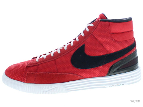 【US8.5】NIKE LUNAR BLAZER 555029-601 university red/black-white