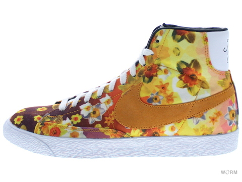 "【US10】NIKE BLAZER MID PRM VNTG QS ""NYC"" 638322-901 multi-color/kumquat-black"