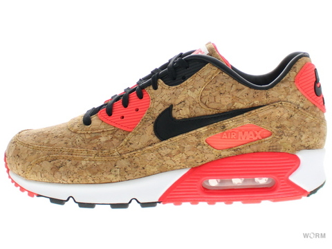 "【US10.5】NIKE AIR MAX 90 ANNIVERSARY ""CORK"" 725235-706 bronze/black-infrared-white"