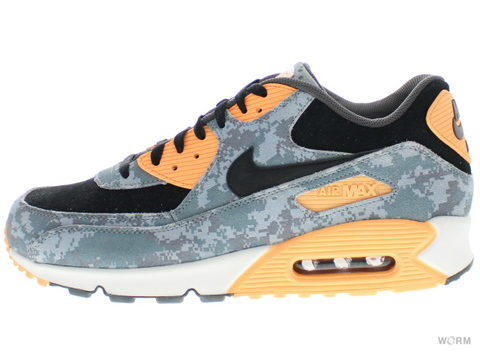 【US12】NIKE AIR MAX 90 PRM 700155-400 blue fox/bl fox-ozn bl-mst bl