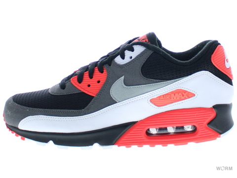 【US9.5】NIKE AIR MAX 90 OG 725233-006 black/neutral grey-drk gry-wht