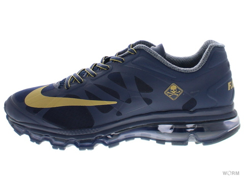 【US9.5】NIKE AIR MAX+ 2012 MMJ NRG 583220-470 midnight navy/metallic gold