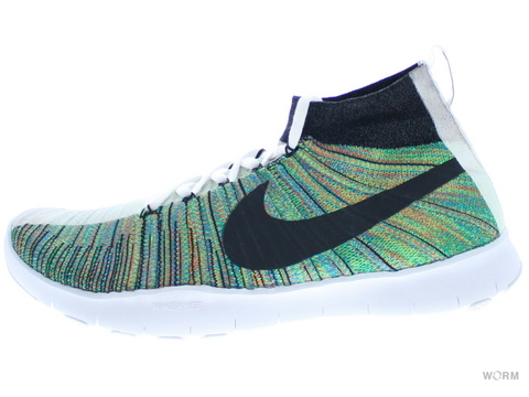 【US10.5】NIKE FREE TR FORCE FLYKNIT PREMIUM 844461-910 multi-color/white