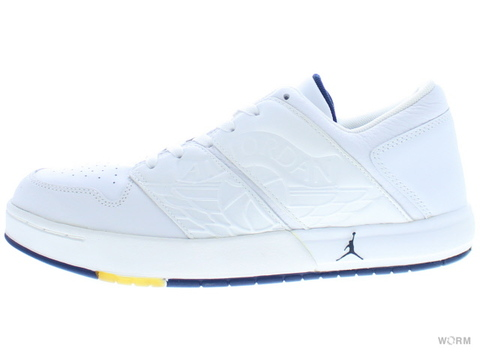 "NU'RETRO AIR JORDAN 1 LOW ""2002"" 302371-141 white/midnight navy"