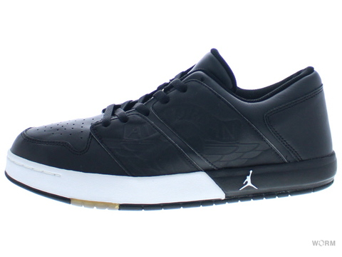 "NU'RETRO AIR JORDAN 1 LOW ""2002"" 302371-012 black/white"