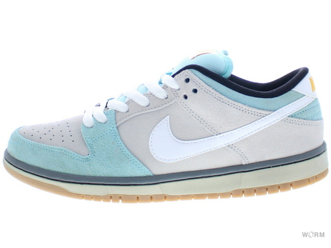 "【US9.5】NIKE SB DUNK LOW PRO SB ""GULF OF MEXICO"" 304292-410 glacier ice/white-lght ash gry"