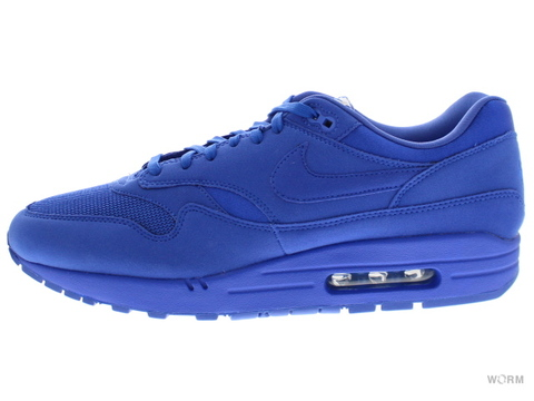 【US12】NIKE AIR MAX 1 PREMIUM 875844-400 game royal/game royal