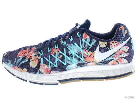 【US10.5】NIKE AIR ZOOM PEGASUS 32 PHOTOSYNTH 724380-401 drk obsdn/smmt wht-gm lght brw