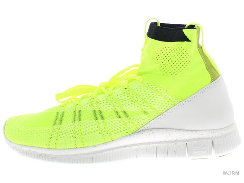 "【US11】NIKE HTM FREE MERCURIAL SUPERFLY ""HTM"" 689466-711 volt/white-white"