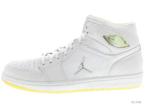 "AIR JORDAN RETRO 1 ""2001"" 306000-101 white/metallic silver"