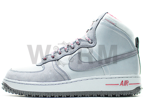【US10.5】NIKE AIR FORCE 1 DECONSTRUCT MB QS 573978-001 cool grey/anthracite-team red