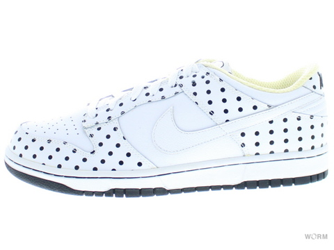 【US9.5】NIKE DUNK LOW PRB 314886-111 white/white-black
