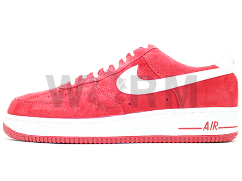 NIKE AIR FORCE 1 488298-620 gym red/white
