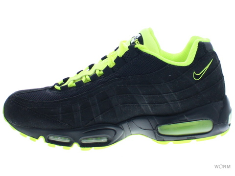 【US10】NIKE AIR MAX '95 609048-090 black/black-white-volt